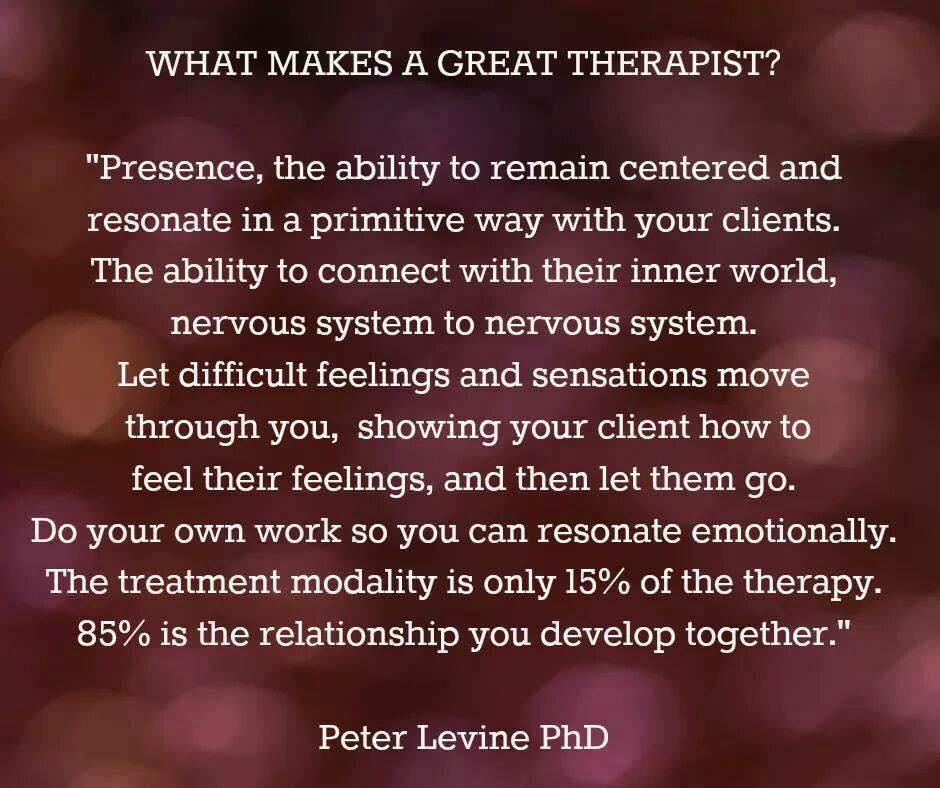 terapeuta - Peter Levine