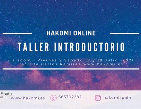 Taller Introductorio Online al Método Hakomi